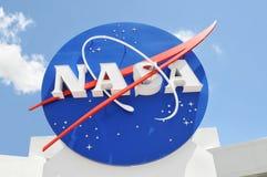 Zeichen der NASAs lizenzfreie stockfotos