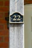 Zeichen der Nr. 22 Lizenzfreie Stockbilder