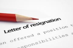 Zeichen der Resignation Lizenzfreie Stockfotografie