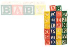 Zeichen des Alphabetes Stockfoto