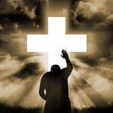 Zeichen des Glaubens Stockbilder