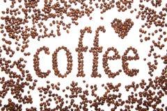 Zeichen des Kaffees Stockbilder