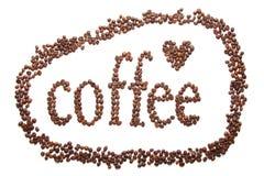 Zeichen des Kaffees Lizenzfreie Stockbilder