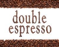 Zeichen des Kaffees Lizenzfreie Stockfotografie
