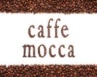 Zeichen des Kaffees Lizenzfreie Stockfotos
