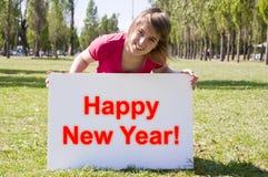 Zeichen des neuen Jahres Lizenzfreies Stockbild