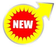 Zeichen des neuen Produktes Lizenzfreies Stockbild