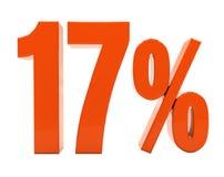 Zeichen des Prozent-Rabatt-3d Lizenzfreie Stockfotos