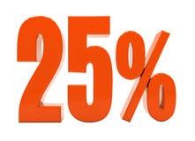 Zeichen des Prozent-Rabatt-3d Stockfoto