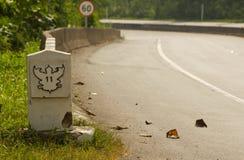 Zeichen des Weg-11 Stockbilder