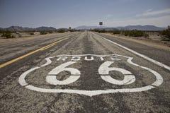Zeichen des Weg-66 lizenzfreies stockbild