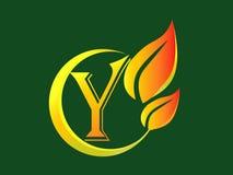 Zeichen des Zeichen-Y stockfoto