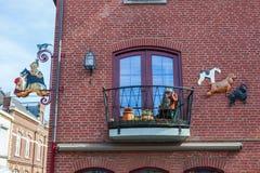 Zeichen eines Hundgroomer in Valkenburg, die Niederlande Lizenzfreie Stockfotos