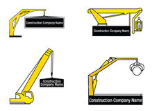 Zeichen für Reparatur und Bauunternehmen Stockfotos