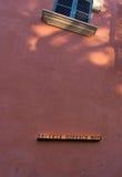 Zeichen Galeria Horrach Moya Stockfoto