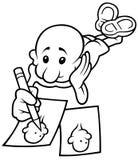 Zeichen-Kopie Stockfoto