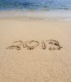 Zeichen mit 2013 Lieben Lizenzfreie Stockfotografie