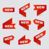Zeichen neu Neue Zeichen Lizenzfreie Stockfotos