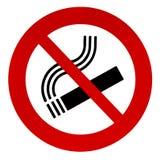 Zeichen Nichtraucher stockbild