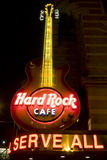 Zeichen Philadelphias Hard Rock Cafe Stockbilder