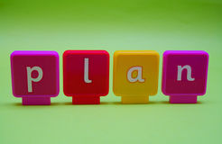 Zeichen: Plan Lizenzfreies Stockfoto