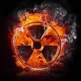 Zeichen-Strahlung stock abbildung