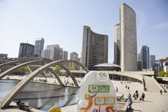 Zeichen Toronto Pan Ams 2015 Lizenzfreie Stockfotografie