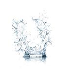 Zeichen U des Wasseralphabetes Stockfotos