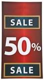 Zeichen-Verkauf Lizenzfreie Stockfotografie