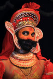 Zeichen vom Kathakali Theater Stockfotografie