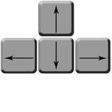 Zeichen von Tastaturen Stockbilder