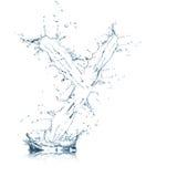 Zeichen Y des Wasseralphabetes Lizenzfreie Stockfotos