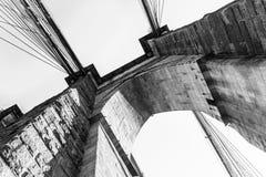 Zeichen, Ziegelsteine, nahe der Brooklyn-Brücke Lizenzfreie Stockbilder
