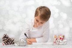 Zeichen zu Weihnachtsmann Lizenzfreie Stockfotografie