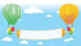 Zeichenballone. vektor abbildung