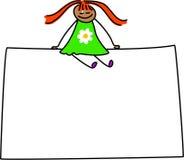 Zeichenkind stock abbildung