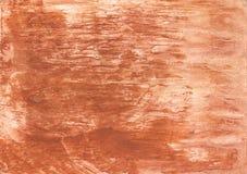 Zeichenpapier der farbigen Wäsche des Pfirsiches Lizenzfreies Stockbild