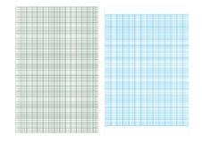 Zeichenpapiers- mit Maßeinteilunghintergrund, Linie Muster, Illustrationen Stockbild
