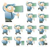 Zeichensatz einer Lizenzfreie Stockbilder