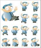 Zeichensatz zwei Stockfotos