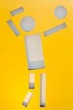 Zeichensportvolleyball Lizenzfreies Stockbild