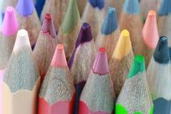 Zeichenstift vieler Farben Lizenzfreies Stockfoto