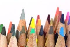 Zeichenstift vieler Farben Lizenzfreie Stockfotografie