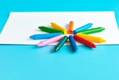 Zeichenstifte und Bleistifte für das Zeichnen Lizenzfreie Stockfotografie