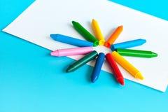 Zeichenstifte und Bleistifte für das Zeichnen Lizenzfreies Stockbild