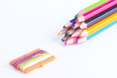 Zeichenstiftfarben Stockbild