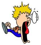 Zeichentrickfilm-Figur Lizenzfreies Stockfoto