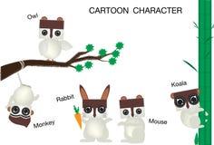 Zeichentrickfilm-Figur Stockbilder