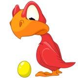 Zeichentrickfilm-Figur Dino vektor abbildung