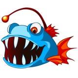 Zeichentrickfilm-Figur-Fische Lizenzfreie Stockfotografie
